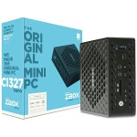 ZBOX C Series CI327 nano - Barebone - mini PC - 1 x Celeron N3450 / 1.1 GHz - HD Graphics 500 - GigE - WLAN: 802.11ac, Bluetooth 4.2
