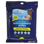 "10"" x 12"" Body Cleansing Wipes - 12 Pack"