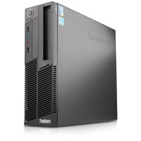 Lenovo Thinkcentre M90p Intel Dual-Core i5-650 3.2GHz Small Form Factor Desktop PC - 8GB RAM, 500GB HDD, Gigabit Ethernet, DVDRW, Black - Microsoft Authorized Refurbished (Off-Lease) M-OLIBMM90P/3.2CI5-R