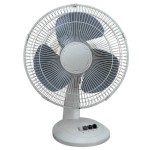 16' Oscillating Fan, White