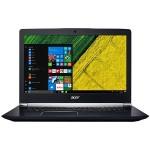 "Aspire V 17 Nitro 7-793G-709A - Core i7 7700HQ / 2.8 GHz - Win 10 Home 64-bit - 16 GB RAM - 256 GB SSD + 1 TB HDD - 17.3"" IPS 1920 x 1080 (Full HD) - GF GTX 1060 - Wi-Fi, Bluetooth - obsidian black - kbd: US International"