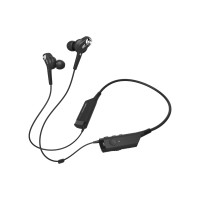 Audio - Technica ATH ANC40BT - Headset - in-ear - behind-the-neck mount - wireless - Bluetooth - active noise canceling ATH-ANC40BT