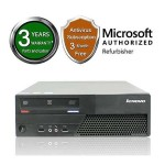 M58P Intel Core 2 Duo E8400 Dual-Core 3GHz Desktop PC - 4GB DDR3, 250GB HDD, DVD, Integrated Graphics, Microsoft Windows 7 Pro 64-Bit - Refurbished