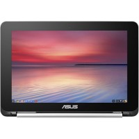 "ASUS Flip C100PA Rockchip Quad-Core RK3288C 1.8GHz Chromebook - 2GB RAM, 16GB eMMC Flash, 10.1"" WXGA touch screen for hands-on control, 802.11 a/b/g/n/ac, Bluetooth 4.0, HD Webcam, 6-Cell 31WHrs Battery - Refurbished C100PA-RBRKT03"