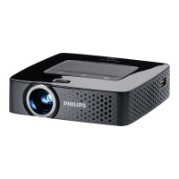Philips PicoPix PPX 3614 - DLP projector - 140 lumens - WVGA (854 x 480) - 16:9 PPX3614/F7