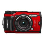 Tough TG-5 - Digital camera - compact - 12.0 MP - 4K / 30 fps - 4x optical zoom - Wi-Fi - underwater up to 45 ft - red
