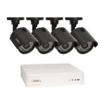 Q-See QTH4-4Z3-1 - DVR + camera(s) - 4 channels - 1 x 1 TB - 4 camera(s)