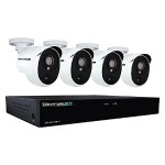 4 Channel 5MP Extreme HD Video Security DVR & Wired Infrared Cameras with 1 TB HDD - White