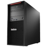ThinkStation P410 Tower - Intel Xeon E5-1630 v4 4C/3.7GHz/10MB/140W/DDR4-2400, 8GB RDIMM DDR4-2400 ECC, 256GB SSD M.2 PCIe Opal, HH DVD±RW, NVIDIA Quadro P1000 4GB, Windows 10 Pro 64