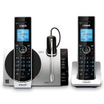 2 Handset Connect to Cell Answering System with Cordless Headset
