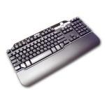 104-Key Multimedia Enhanced USB Keyboard - Black/Silver