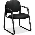 Solutions Seating Sled-base Guest Chairs - Black