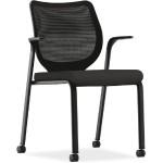 Nucleus Series Multipurpose Stacking Chair - Black