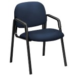 Solutions Seating Leg-base Guest Chairs - Navy Seat