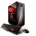 SN8150A Gaming Desktop PC - Ryzen 5 1600X - 16GB DDR4 2400Mhz - 1.120TB Hard Drive - RX-560 2GB graphics Card - A320 Motherboard - iBP Slate Casing - 802.11 AC WIFI - RGB Lighting - Windows 10 Home 64bit