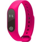 Fitness Tracker Smart Bracelet Bluetooth Heart Rate Monitor - Red