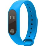 Fitness Tracker Smart Bracelet Bluetooth Heart Rate Monitor - Blue