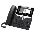 IP Phone 8811 shipped with multiplatform phone firmware, and with a Power Cube and a power cord for North America