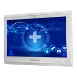 Cybernet 22in Medical Grade AIO - AntiGlare Touch, i5, 8GB, 120GB, Intel 7260, 2D Scanner, Internal Battery, Cable Management Cover