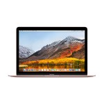 "MacBook 12"" with Retina Display, Intel 1.2GHz Dual-Core Intel Core m3 processor, 8GB RAM, 256GB SSD storage & Intel HD Graphics 615 - Rose Gold, Mac OS High Sierra"