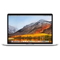 "Apple 15.4"" MacBook Pro with Touch Bar, Quad-Core Intel Core i7 2.8GHz, 16GB RAM, 256GB SSD storage, Radeon Pro 555 with 2GB, 10-hour battery life, Silver MPTU2LL/A"
