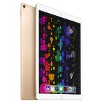 "Apple 12.9"" iPad Pro Tablet - 256GB Storage, 12.9"" Screen, 2048x1536 Resolution, A10X Fusion chip, Wi-Fi, Bluetooth, iOS 9, 12-Megapixels Back Camera, 7-Megapixels Front Camera, Gold MP6J2LL/A"
