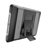 """Voyager iPad Case - iPad 9.7"""" (2017) and iPad Air 2 - Black/Grey"""