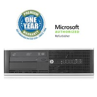 HP Inc. Elite 8200 USFF Desktop - Intel Core i5-2400s 2.5GHz, 8GB DDR3, 1TB HDD, Windows 10 Pro, Microsoft Authorized Refurbished (Off-Lease) M-OLHPEL8200/2.5CI5U