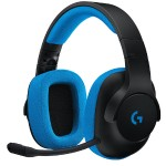 G233 Prodigy Wired Gaming Headset - Black/Cyan
