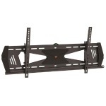 "Low Profile Flat-Screen TV Wall Mount for 37"" to 70"" TV - Anti-Theft Protection, Tilting"