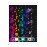 Apple 10.5-inch iPad Pro Wi-Fi + Cellular 64GB with Engraving - Gold MQF12LL/A