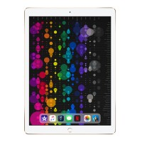 Apple 12.9-inch iPad Pro Wi-Fi + Cellular 64GB with Engraving - Gold MQEF2LL/A