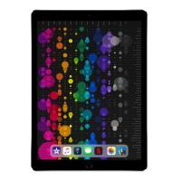 Apple 12.9-inch iPad Pro Wi-Fi + Cellular 256GB with Engraving - Space Gray MPA42LL/A