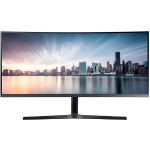 "Samsung 34"" 890 Series Curved WQHD Monitor with USB-C for Business C34H890WJN"