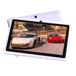 "Zeepad 7DRK-Q Allwinner Cortex A7 A33 Quad-core Tablet - 512MB DDR3 SDRAM, 4GB Flash Memory, 7"" IPS Display, ARM Mali-400 MP2 Graphics, 802.11b/g/n, Bluetooth, 3000 mAh, Android 4.4.2 KitKat - White"