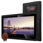 "Zeepad 7DRK-Q Allwinner Cortex A7 A33 Quad-core Tablet - 512MB DDR3 SDRAM, 4GB Flash Memory, 7"" IPS Display, ARM Mali-400 MP2 Graphics, 802.11b/g/n, Bluetooth, 3000 mAh, Android 4.4.2 KitKat"