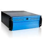 4U Compact Stylish Rackmount Chassis with 500W Redundant Power Supply