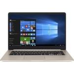 "Vivobook S510UA-DB71 Intel Core i7-7500U Dual-Core 2.70GHz Notebook PC - 8GB RAM, 1TB HDD + 128GB SSD, 15.6"" FHD LCD, 802.11 ac, Bluetooth 4.1 - Gold Metal"