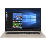 "Vivobook S510UA-DB71 Intel Core i7-7500U Dual-Core 2.70GHz Notebook PC - 8GB RAM, 1TB HDD + 128GB SSD, 15.6"" FHD Display, 802.11ac, Bluetooth 4.1, Windows 10 Home - Gold Metal"