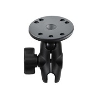 "RAM Mounts 2.5"" Diameter Round Base with 1"" Diameter Ball and short sized Length Arm B-103U-A"