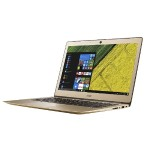 "Acer Swift SF314-51-76R9 Intel Core i7-6500U Dual-Core 2.50GHz Notebook PC - 8GB RAM, 256GB SSD, 14"" IPS Full HD LCD, 802.11ac, Bluetooth 4.0, Lithium Ion - Gold NX.GKKAA.004"