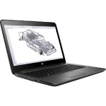 "ZBook 14u G4 Intel Core i7-7500U Dual-Core 2.7GHz Mobile Workstation - 8GB DDR4 SDRAM, 256GB NVME SSD, 14"" Touchscreen FHD LCD, Gigabit Ethernet, WLAN, Bluetooth, Microsoft Windows 10 Pro 64-bit"