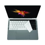 "Keyboard Protective Overlay for 13"" and 15"" Macbook Pro with Touch Bar - White"