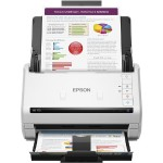 WorkForce DS-770 Color Document Scanner - Sheet-fed, 1-pass, Duplex Color Scanner, 600 dpi, up to 45 ppm/90 ipm, 100-page ADF, up to 5,000 sheets daily duty cycle