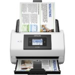 DS-780N Network Color Document Scanner - Sheet-fed, 1-pass, Duplex Color Scanner, 600 dpi, up to 45 ppm/90 ipm, 100-page ADF, up to 5000 sheets
