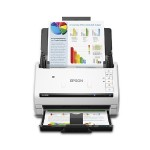 DS-575W Wireless Color Document Scanner - Sheet-fed, 1-pass, Duplex Color Scanner, 3-color RGB LED, Letter size: 35 ppm/70 ipm - 300 dpi Black-and-White, Color, Gray - 50 sheets capacity