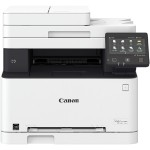 """Color imageCLASS MF634Cdw All-in-One Laser Printer - Print, Scan, Copy, Fax - 600x600dpi, 19 ppm (Simplex), Mobile Printing Capability, 50-Sheet ADF, 150-Sheet Tray & 1-Sheet Feed Slot, 5"""" Touchscreen LCD, USB 2.0, Ethernet, Wi-Fi"""