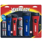 LED Economy Flashlight, 4-Pack