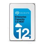 """Exos X12 ST12000NM0007 - Hard drive - 12 TB - internal - 3.5"""" - SATA 6Gb/s - 7200 rpm - buffer: 256 MB"""