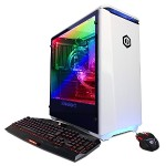 Gamer Panzer Intel Core i9-7900X 10-Core 3.30GHz Gaming Desktop - 32GB DDR4 3000MHz, 2TB HDD + 240GB SSD, NVIDIA GeForce GTX 1080, Gigabit Ethernet, 802.11AC, Keyboard and Mouse, Microsoft Windows 10 Home 64-bit - White